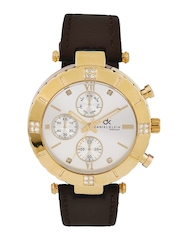 Daniel Klein Women Steel-Toned Dial Watch DK10268-2