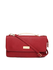 David Jones Red Sling Bag