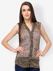 Dazzgear Women Animal Printed Shirt