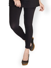 De Moza Women Black Leggings