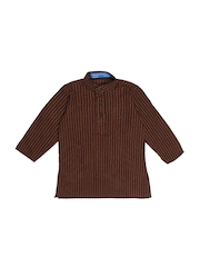 Dennis Morton Boys Brown Kurta