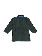 Dennis Morton Boys Green Kurta