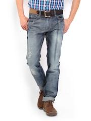 Derby Men Blue Slim Fit Jeans