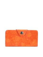 Dernier Cri. Women Orange Wallet
