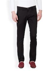 Design Roadies Men Black Trousers