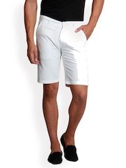 Design Roadies Men White Shorts