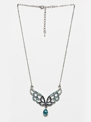 Diovanni Women Silver Necklace