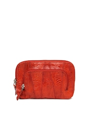 Dipro Red Leather Purse