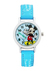 Disney Boys Blue & White Dial Watch