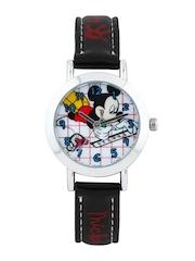 Disney Boys White & Red Dial Watch