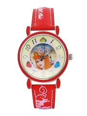 Disney Girls Gold Toned Dial Watch