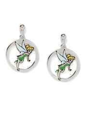 Disney Girls Sterling Silver Drop Earrings