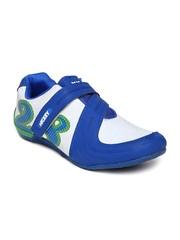 Men White & Blue Casual Shoes Disney
