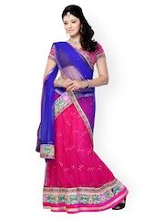 Diva Fashion Pink Net Lehenga Choli with Dupatta