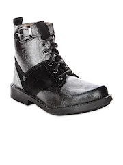 Do Bhai Black Boys Boots