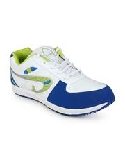 Men White & Blue Casual Shoes Do Bhai