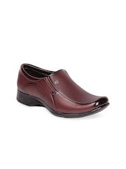 Do Bhai Men Brown Formal Shoes