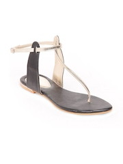 Do Bhai Women Gold Toned Sandals