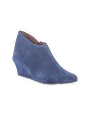 Do Bhai Women Blue Boots