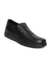 By Bata Men Black Semiformal Shoes Dr. Scholl