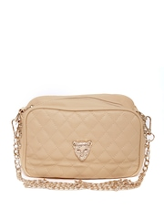 DressBerry Beige Sling Bag