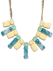 DressBerry Blue & Gold-Toned Necklace