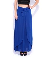 DressBerry Blue Maxi Skirt