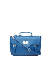 DressBerry Blue Satchel