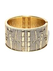 DressBerry Gold-Toned Cuff Bracelet