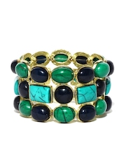 DressBerry Green & Blue Bracelet