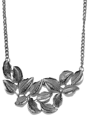 DressBerry Gunmetal-Toned Necklace