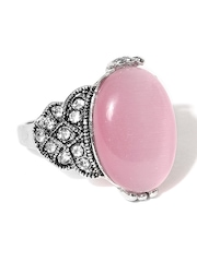 DressBerry Light Pink & Silver-Toned Ring