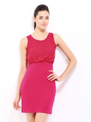 DressBerry Pink Jersey Dress