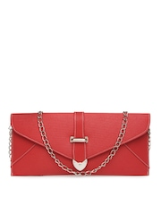 DressBerry Red Oversized Clutch