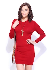 DressBerry Red Winter Berry Dress