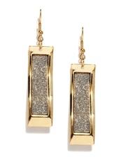 DressBerry Rose Gold-Toned Drop Earrings