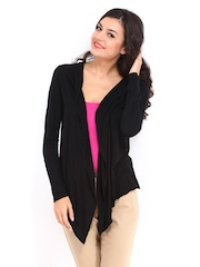 DressBerry Women Black Shrug