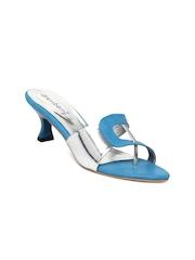 DressBerry Women Blue Heels
