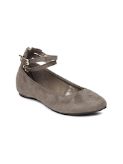 DressBerry Women Brown Flat Shoes
