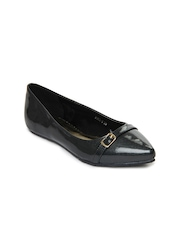 DressBerry Women Dark Grey Flat Shoes