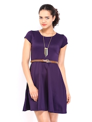DressBerry Purple Twirl Berry Dress
