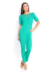 DressBerry Women Green Jumpsuit