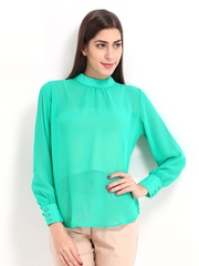 DressBerry Women Green Top