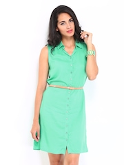 DressBerry Women Green Dress