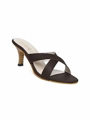 DressBerry Women Brown Heels