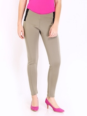 DressBerry Women Khaki Treggings