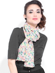 DressBerry Women Multicoloured Printed Scarf