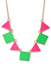 DressBerry Green & Pink Necklace