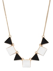 DressBerry Gold-Toned & White Necklace