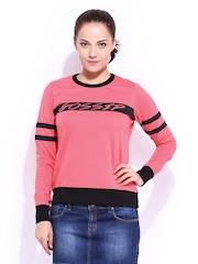 DressBerry Women Pink Sweatshirt